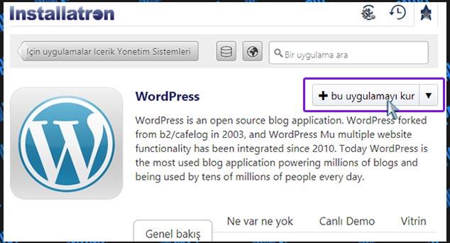 Wordpress Uygulama Kurulumu - internetten makale yazarak para kazanmak