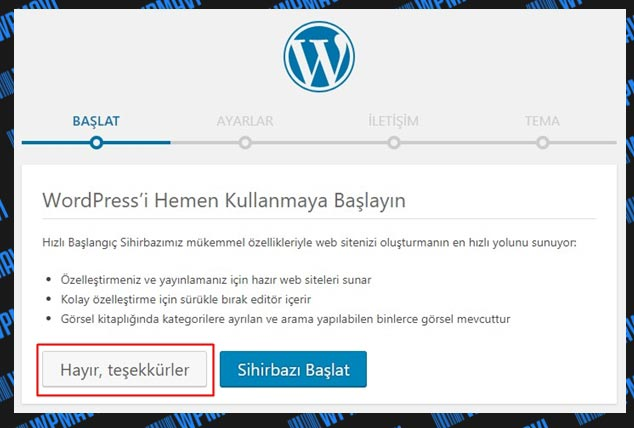 Wordpress Site Kurma - WordPress Site Yapma - WP Sihirbaz