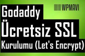 Godaddy SSL Kurulumu Ücretli - Ücretsiz Let's Encrpyt