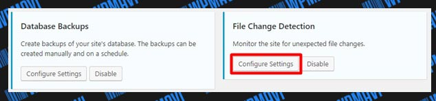iThemes Security Ayarları File Change Detection