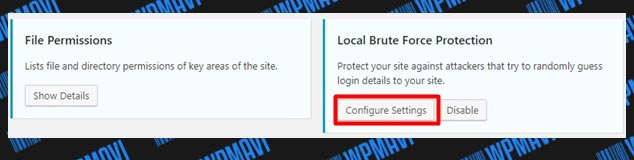 iThemes Security Ayarları Local Brute Force Protection Ayarları