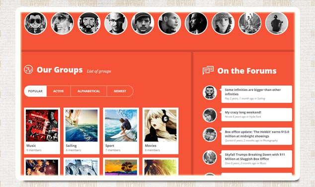 Cinematix WordPress Sosyal Ağ Teması