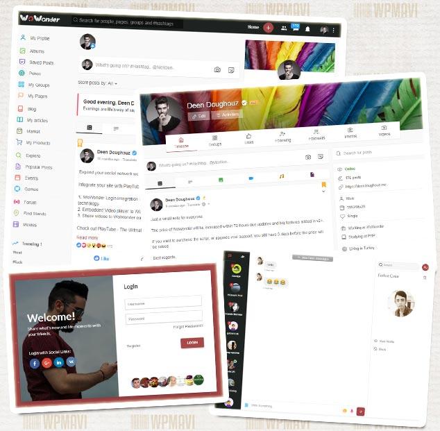 Facebook Benzeri Site Kurma - WoWonder Hazır Sosyal Paylaşım Sitesi
