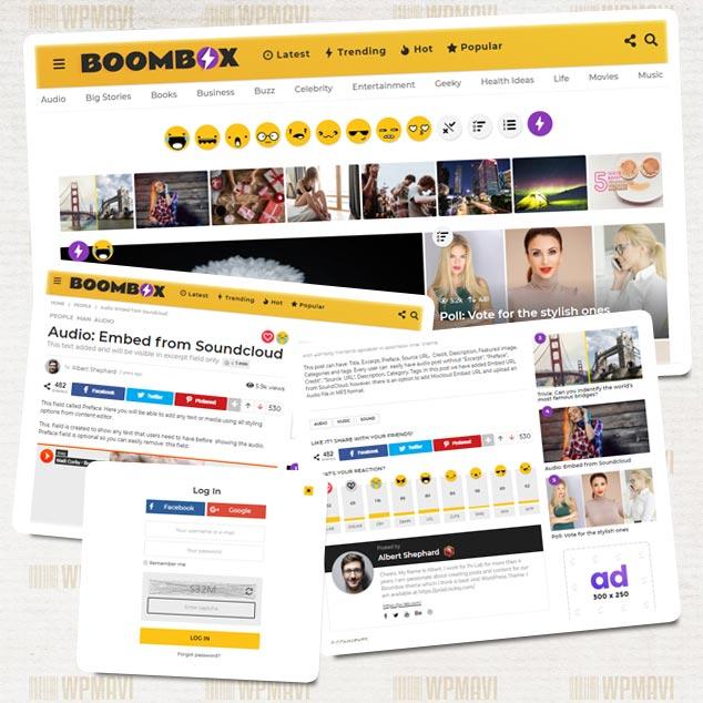 Sosyal İçerik Sitesi Açmak - BoomBox Onedio Tarzı WordPress Teması