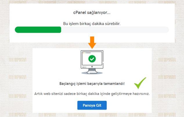 Sosyal İçerik Sitesi Açmak - cPanel Kurulumu Tamamlandı