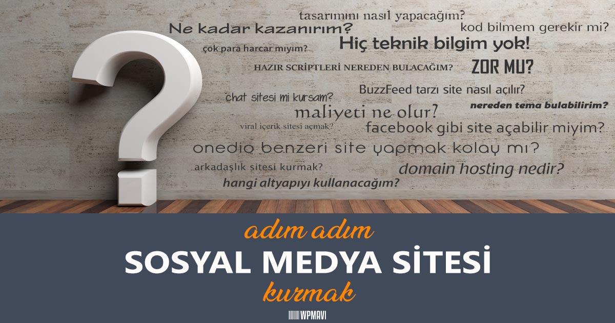 663954df74ee4 Sosyal Medya Sitesi Kurmak: Eksisozluk, Onedio, 9Gag Tarzı   WPMAVI