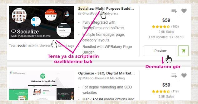 Sosyal Site Kurmak - Tema ya da Script İnceleme