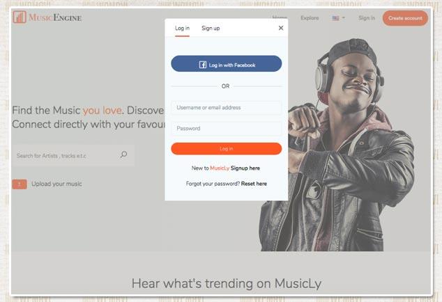 SoundCloud Tarzı Site Açmak - MusicEngine Sosyal Medya Scripti