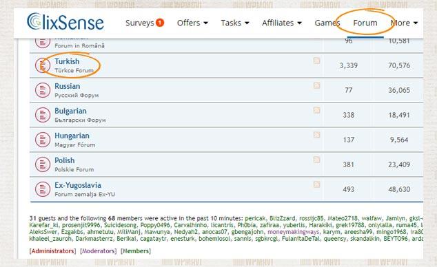 Anket Doldurarak Para Kazandıran Siteler - ClixSense Türkçe Forum