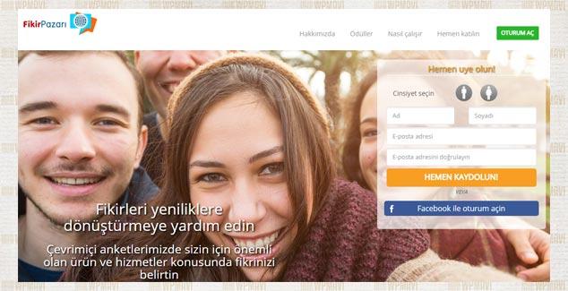 Anket Doldurarak Para Kazanma - Fikir Pazarı Ödüllü anket Sitesi