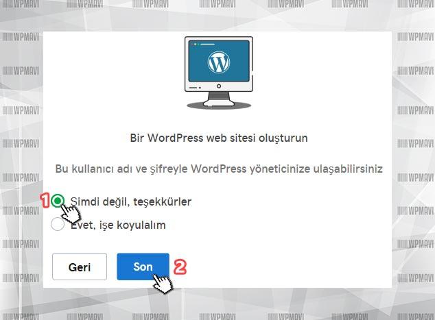 Bireysel Web Sitesi Açmak - WordPress Seçimi