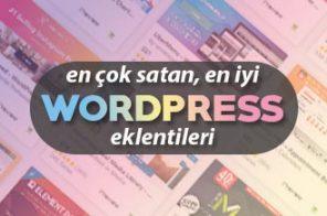 En Çok Satan WordPress Eklentileri