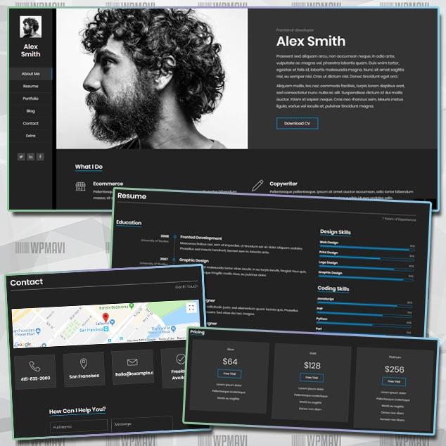 Kerge Biyografi Sitesi WordPress Teması