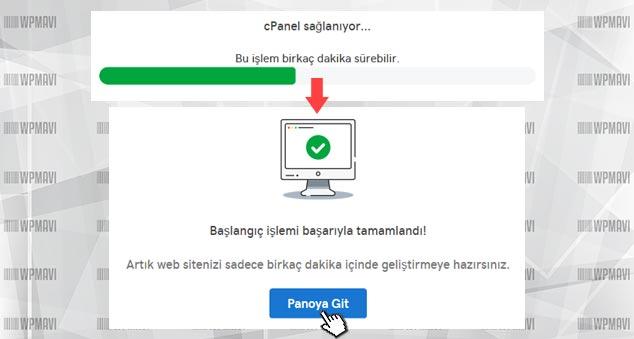 Kişisel İnternet Sayfası Nasıl Yapılır - cPanel Kurulumu Tamamlandı