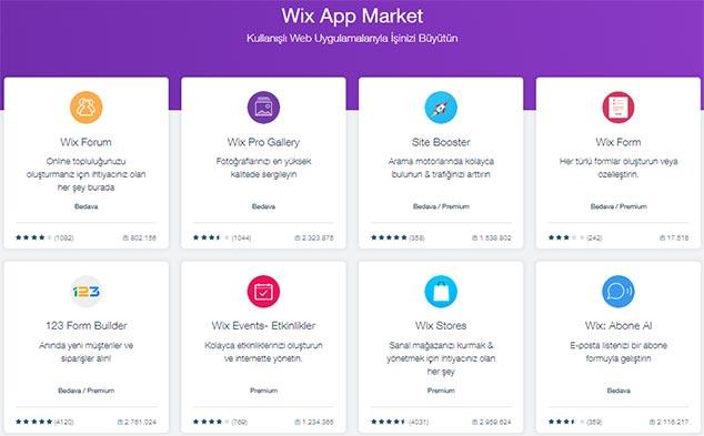 Wix Site Yapma Programı - App Market