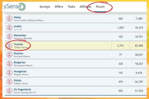 Anket Doldurarak Para Kazandıran Siteler – ySense Türkçe Forum