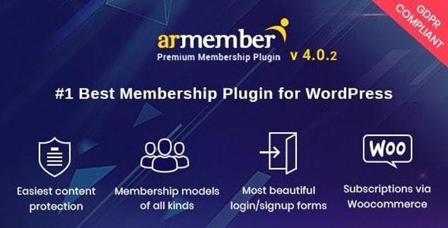 ARMember WordPress Üyelik Sistemi Eklentisi