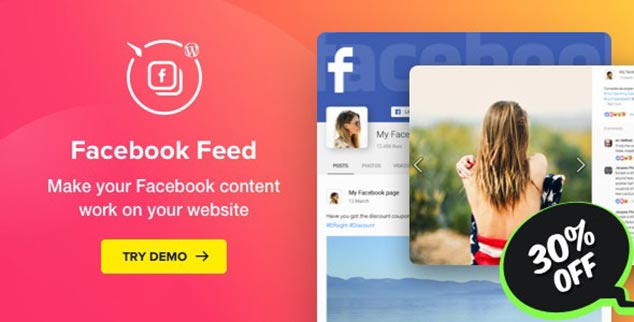 Facebook Feeds - WordPress Facebook Paylaşım Eklentisi