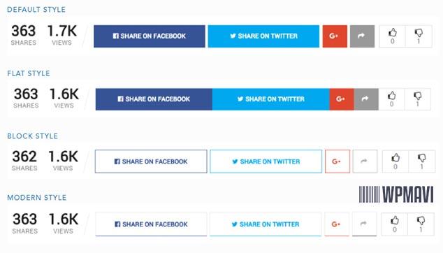 Sharkha WordPress Sosyal Medya Butonları