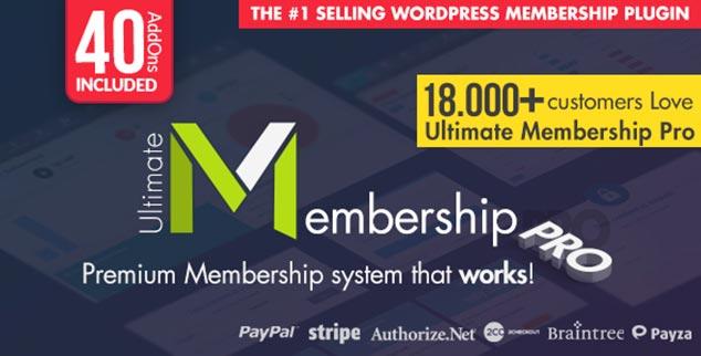 Ultimate Membership Pro - WordPress Üyelik Eklentisi