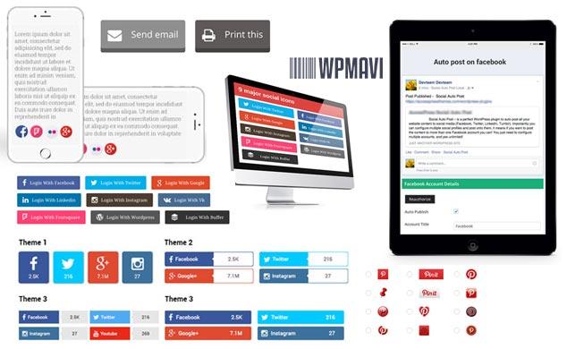 WP Ultimate Social - WordPress Otomatik Sosyal Paylaşım Eklentisi