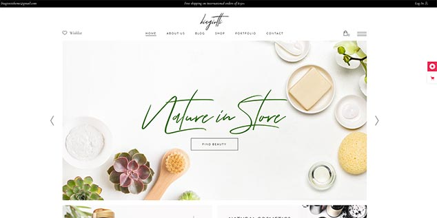 Biagiotti - WordPress E-Ticaret Teması