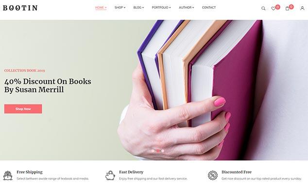 Bootin - WordPress E-Ticaret Teması
