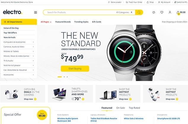 Electro Electronics Store - WordPress Eticaret Teması
