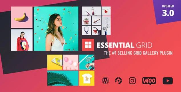 Essential Grid Gallery - WordPress Foto Galeri Eklentisi