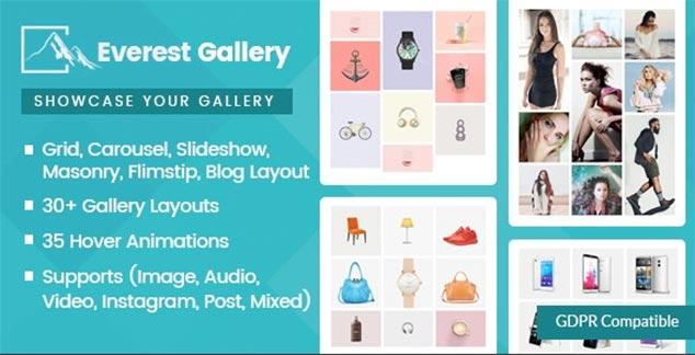 Everest Gallery - WordPress Foto Galeri Eklentisi