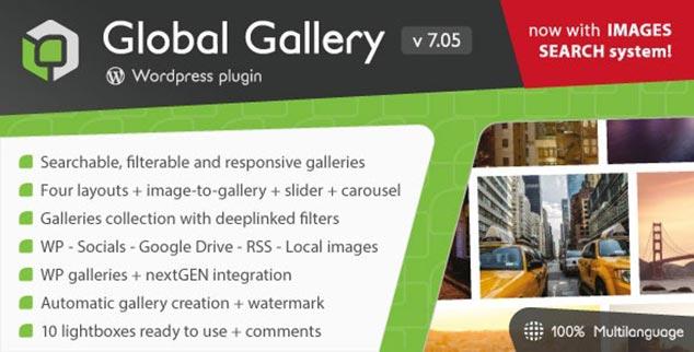 Global Gallery - WordPress Galeri Eklentisi