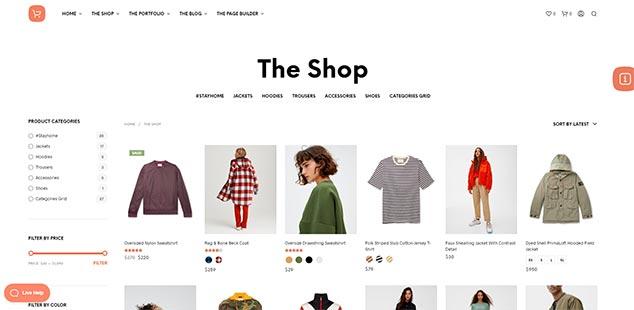 Shopkeeper - WordPress Alış Veriş Teması