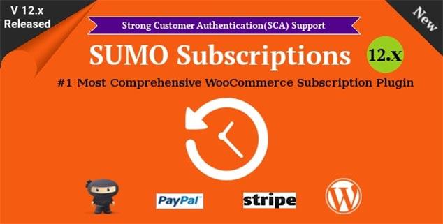 SUMO Subscriptions - WordPress Ücretli Üyelik Sistemi