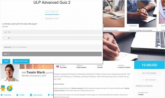 Ultimate Learning Pro - WordPress Online Eğitim Üyelik Eklentisi