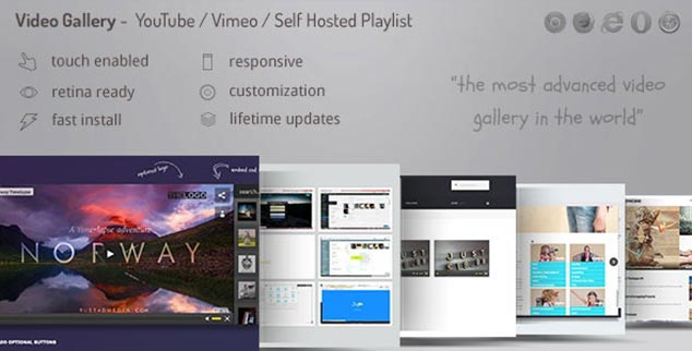 Video Gallery - WordPress Video Galeri Eklentisi
