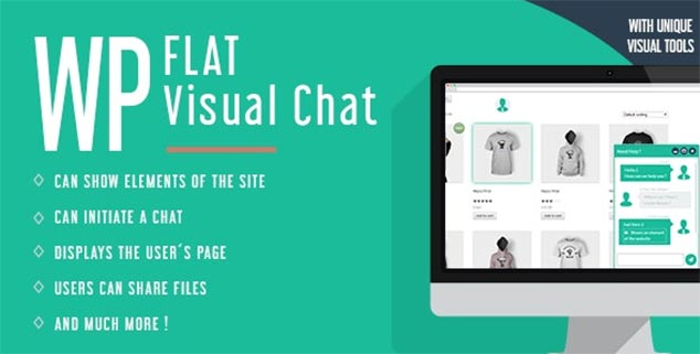 WP Flat Visual Chat - WordPress Canlı Sohbet Eklentisi