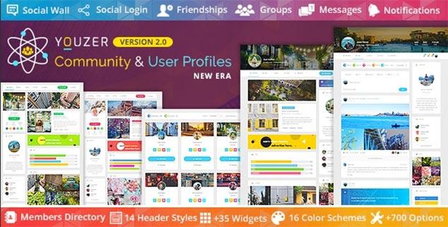Youzer - WordPress Üye Ol Eklentisi