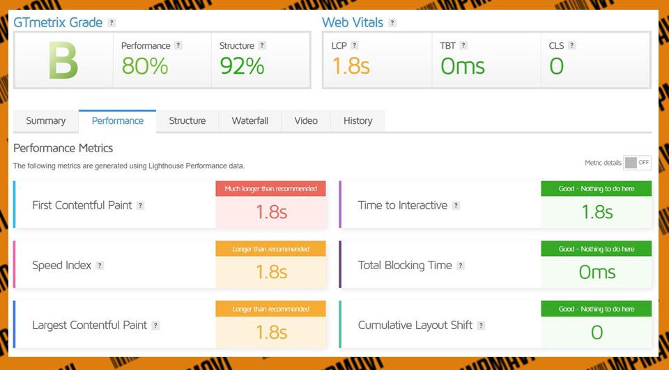 En iyi türk hosting firmaları - Gtmetrix Alastyr Test 1