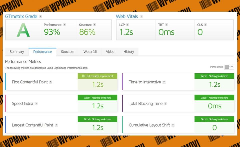 Gtmetrix Sonuçları Test 5 Hosting Com TR - web hosting türkiye
