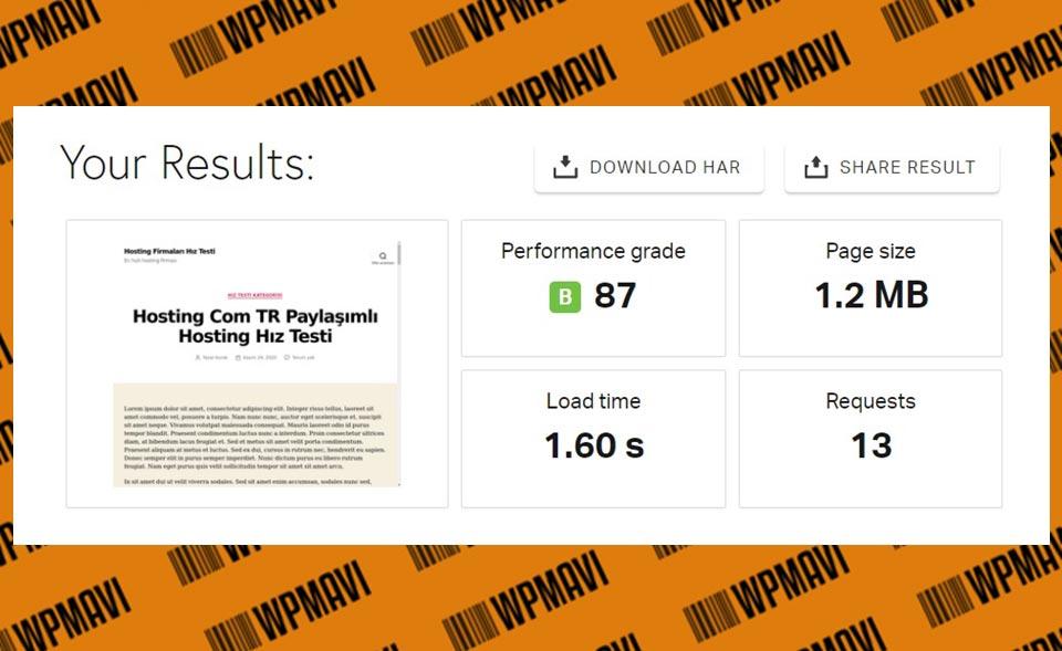Pingdom Sonuçları Test 4 Hosting Com Tr - Türkiye'deki en iyi hosting firmaları