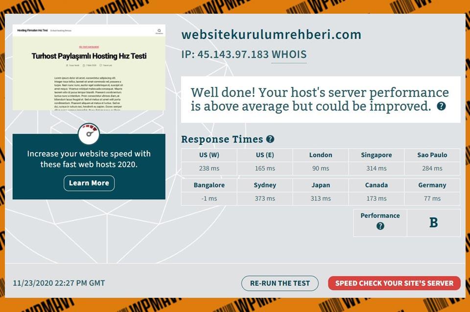Bitcatcha Sonuçları Verigom - alan adı tescili ve web sitesi barındırma şirketleri