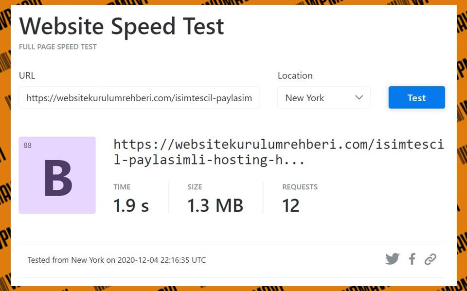 KeyCDN isimtescil test 5 - Türk hosting firmaları