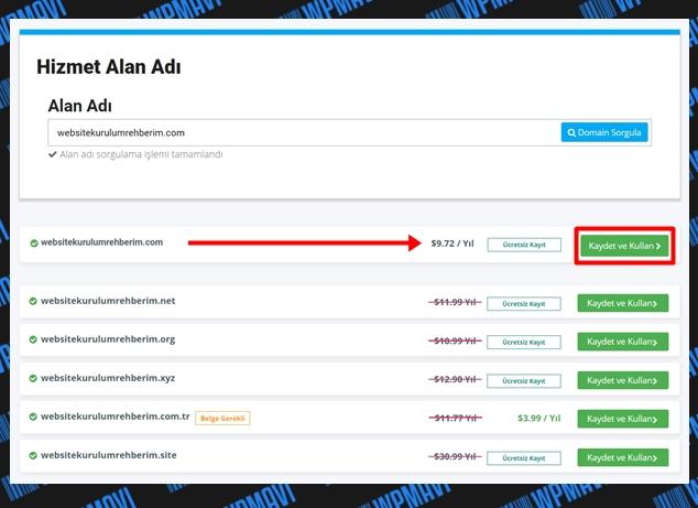 host nasıl alınır - domain uygunluğu